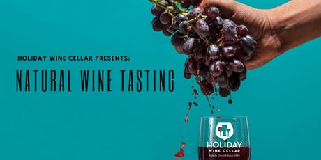 #SippinSaturday | Natural Wine Tasting tickets