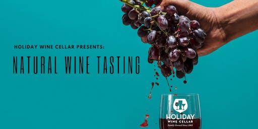 #SippinSaturday | Natural Wine Tasting