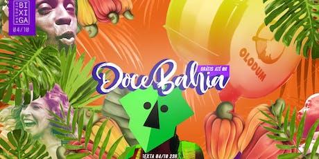 04/10 - FESTA: DOCE BAHIA NO ESTÚDIO BIXIGA ingressos