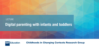 Digital parenting with infants and toddlers