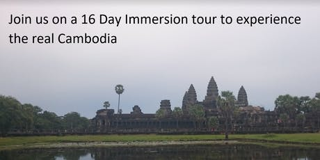 Cambodian Immersion Tour tickets