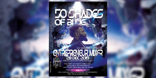 50 Shades of Blue New Years Mixer
