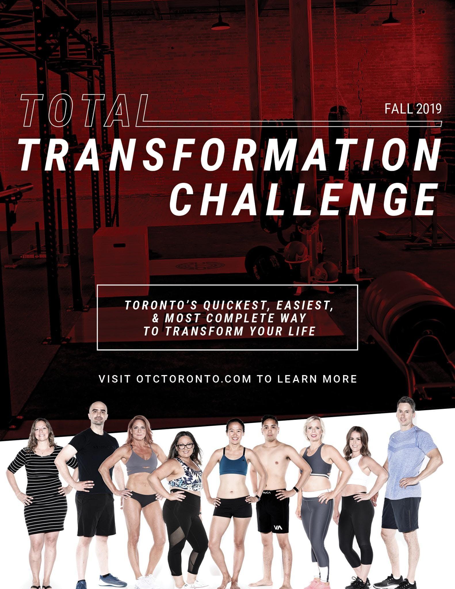 10 Week Total Transformation Challenge (OTC Toronto)