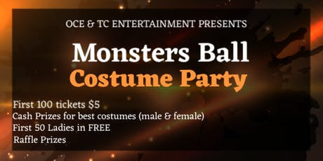 Monsters Ball Costume Party tickets