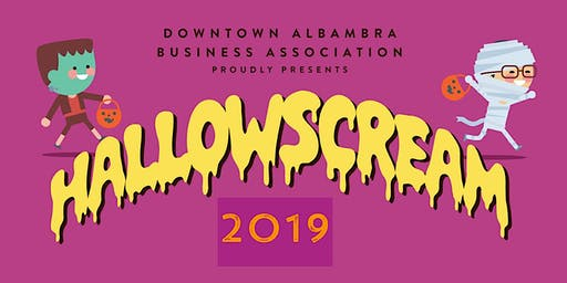 Downtown Alhambra 2019 Hallowscream Trick or Treating & Costume Contest