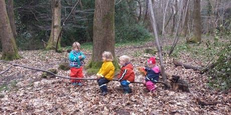 Nature Tots - Outdoor Parent & Toddler Group - Sydney Gardens, Bath tickets