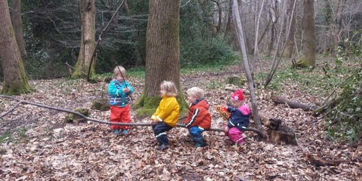 Nature Tots - Outdoor Parent & Toddler Group - Sydney Gardens, Bath