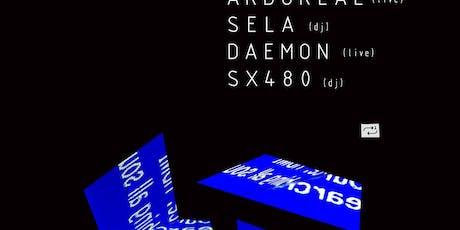 Temporal 9/20: Arboreal, Sela, Daemon tickets