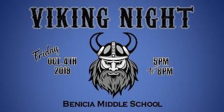 BMS Viking Night tickets