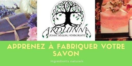 Fabrication de savons naturels (avec soude caustique)