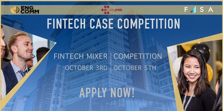 FINTECH Case Competition 2019 tickets