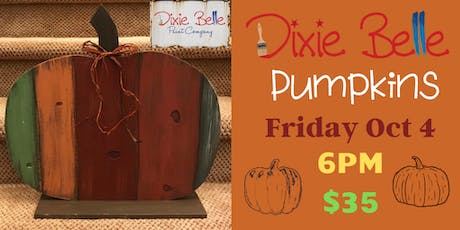 Rustic Pumpkins with Dixie Belle Paint tickets