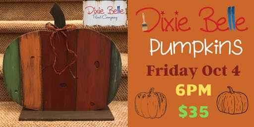 Rustic Pumpkins with Dixie Belle Paint
