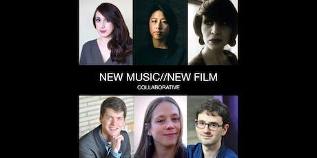 New Music//New Film Collaborative tickets