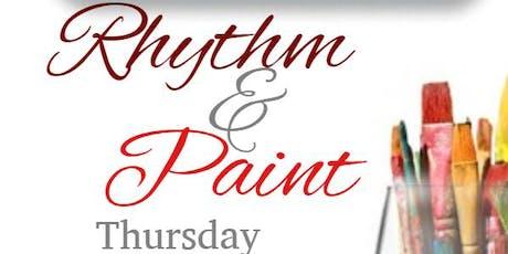 Rhythm & Paint tickets