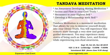 Tandava Meditation tickets