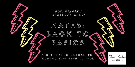 Maths Back to Basics (Primary) tickets