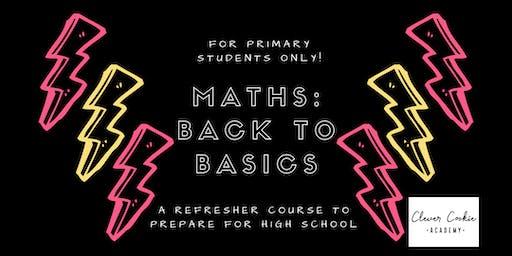 Maths Back to Basics (Primary)