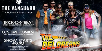 The Deloreans- Hot Club Time Machine Halloween Party