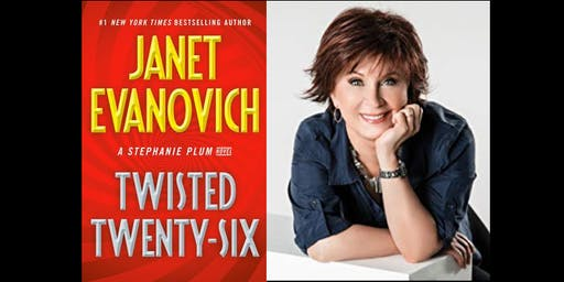 Janet Evanovich signs TWISTED TWENTY SIX