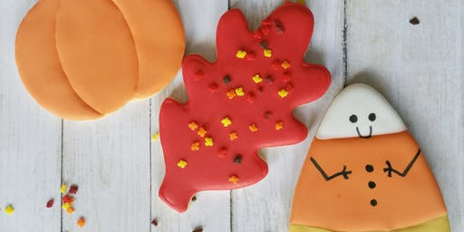 KIDS-Fall cookie decorating class