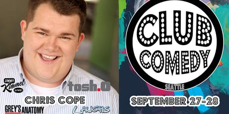 Chris Cope Friday 8:00PM 9/27 tickets