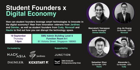 Student Founders x Digital Economy tickets