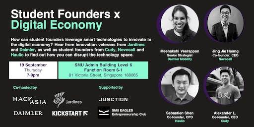 Student Founders x Digital Economy