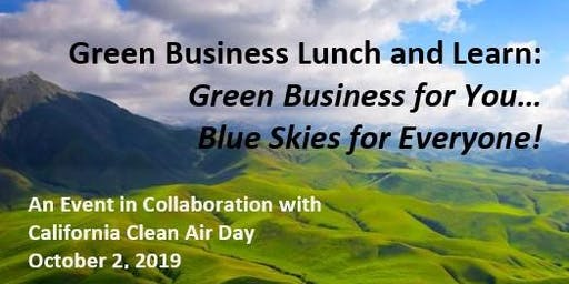 Clean Air Day Green Business FREE Lunch and Learn
