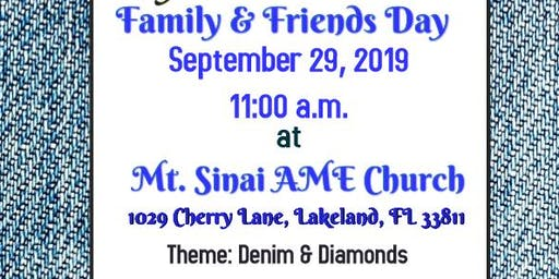 Mt. Sinai Family and Friends Day