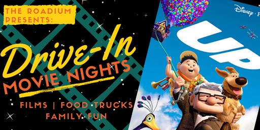 UP: Drive-in Movie Nights at The Roadium