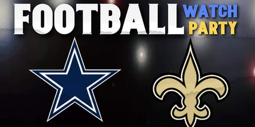 COWBOYS VS SAINTS WATCH PARTY @ KNIGHT CLUB