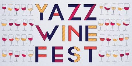 Yazz Wine Fest tickets