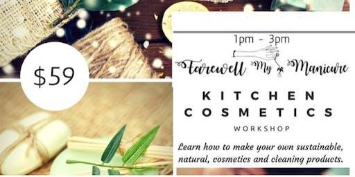 Kitchen Cosmetics Workshop October 2019