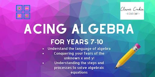 Acing Algebra (Secondary)