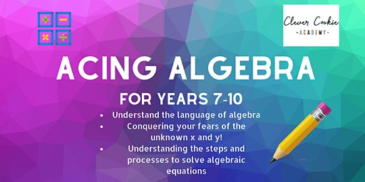Acing Algebra (Secondary)