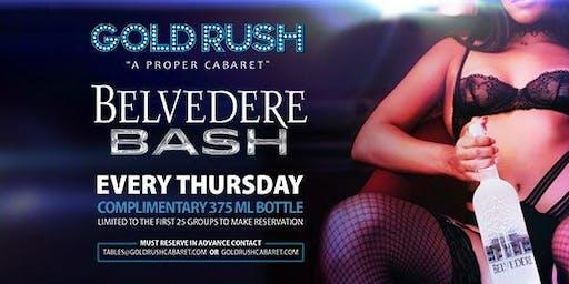 Belvedere Bash at Gold Rush Cabaret Guestlist - 10/24/2019