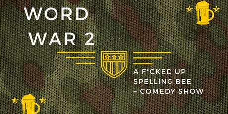 F'd Up Comedy Spelling Bee tickets