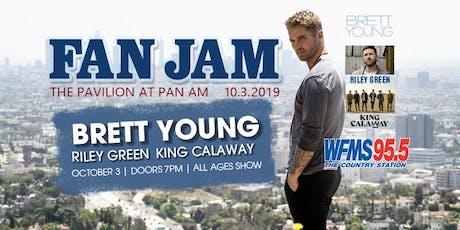 Brett Young Live at WFMS FANJAM tickets