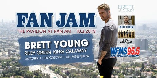 Brett Young Live at WFMS FANJAM