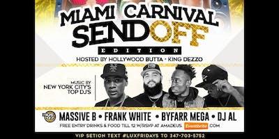 Miami Carnival send off