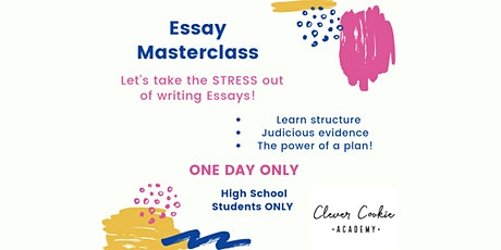 Essay Masterclass tickets