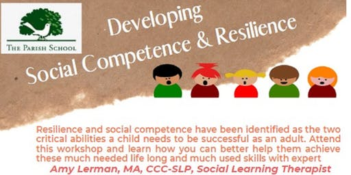 Developing Social Competence and Resilience