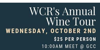2019 WCR Wine Tour