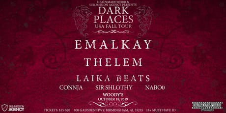HMW Presents: Bass Therapy 086- Dark Places Tour ft. Emalkay tickets