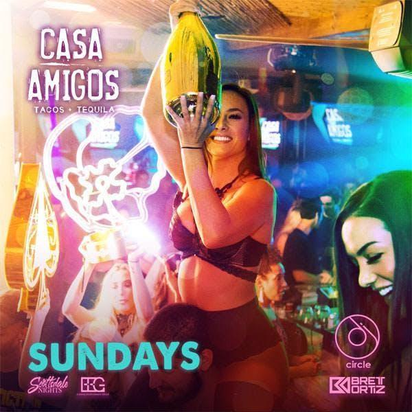 Casa Amigos Sundays at Casa Amigos Free Guestlist - 10/27/2019
