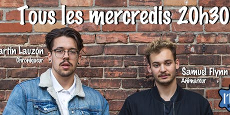 Les mercredis Studio de l'humour.  tickets