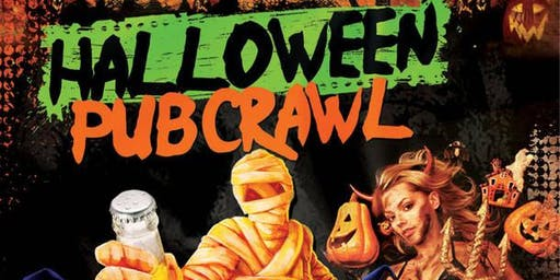 NYC Halloween Pub Crawl 2019 only 15$