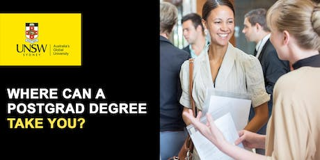 UNSW Postgraduate Information Evening  tickets