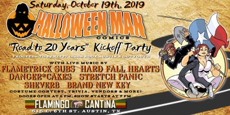 """Halloween Man """"Road to 20 Years"""" Kickoff Party tickets"""